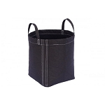 GeoPot Black W/ HANDLES 20 GALLON